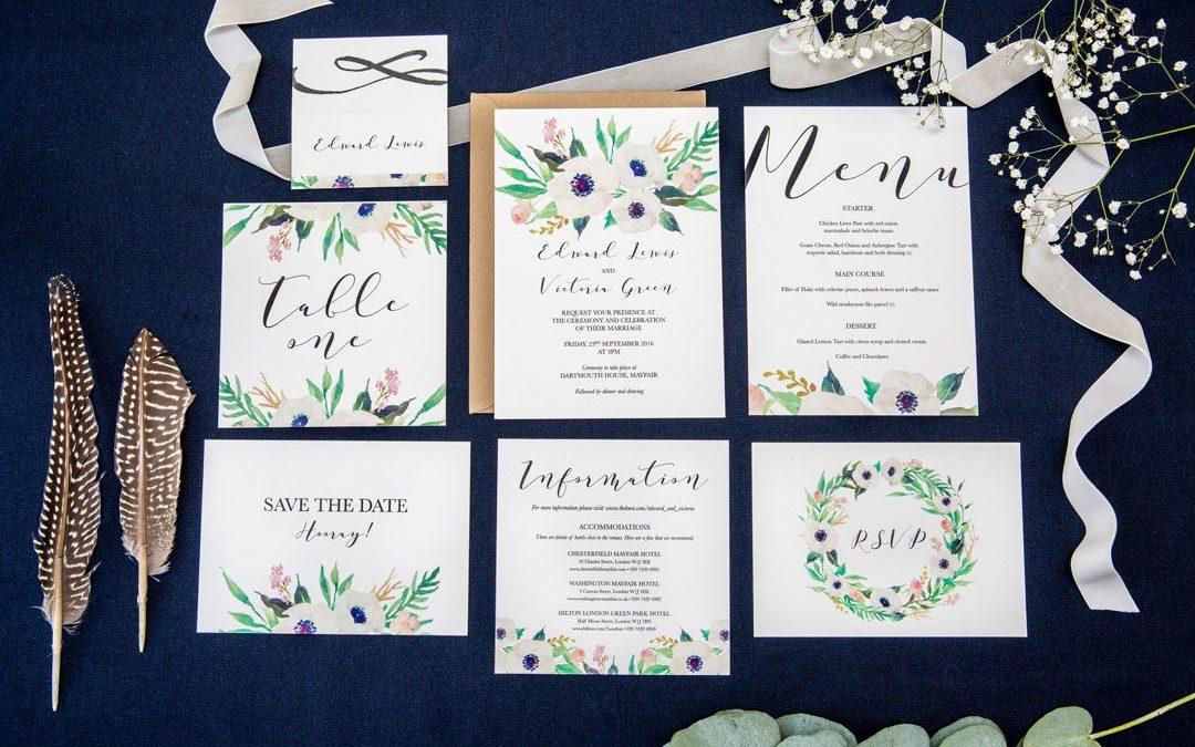FESTIVAL BRIDES LOVE: DARLING ROSE | WEDDING STATIONERY