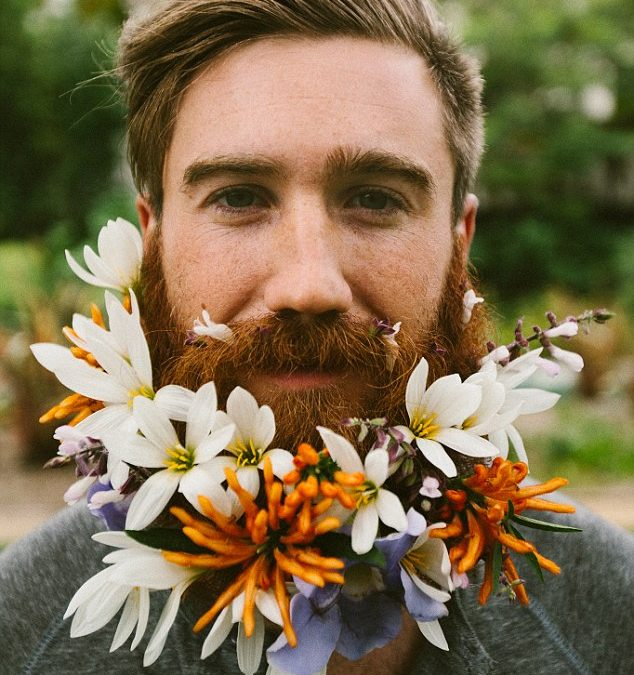 Flower Beards – The new floral craze!!